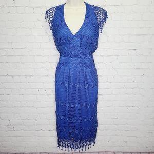 Eva Franco Lace Cocktail Dress